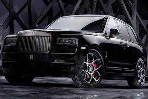 Rolls-Royce ra mắt biến thể Black Badge cho SUV Cullinan