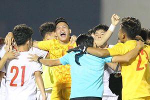 U19 Việt Nam giành quyền tham dự VCK U19 châu Á 2020