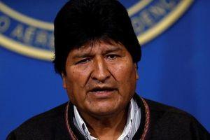 Tổng thống Bolivia từ chức ngay sau khi tái đắc cử