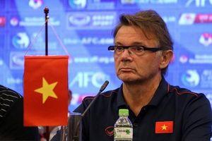 HLV Philippe Troussier nói gì sau trận đấu với U19 Nhật Bản