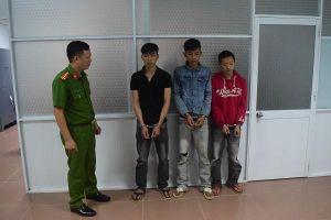 Bắt 3 đối tượng trộm tài sản của người nước ngoài
