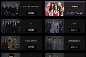 BlackPink bất ngờ thắng lớn tại People's Choice Awards 2019