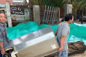 Bão tan, hơn 10.000 người dân Bình Định thở phào trở về nơi ở