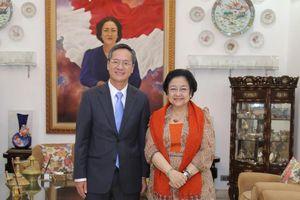 Cựu Tổng thống Indonesia Megawati nói về tình hữu nghị thân thiết giữa Việt Nam và Indonesia