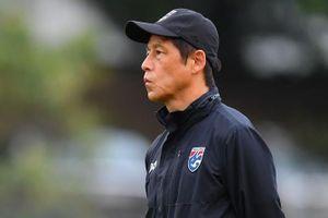 HLV Nishino không hài lòng về buổi tập của tuyển Thái Lan