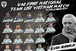 Giấu chiến thuật, ĐT UAE chọn Bangkok làm nơi tập huấn?