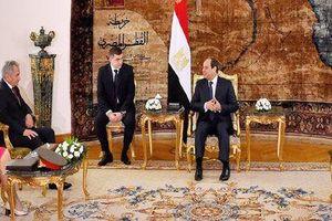 Ai Cập, Nga nhấn mạnh giải pháp chính trị đối với các cuộc khủng hoảng khu vực