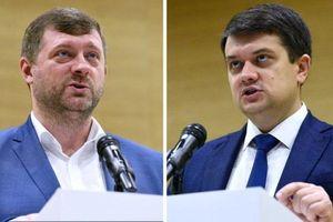 Đảng của Tổng thống Ukraine bất ngờ thay lãnh đạo