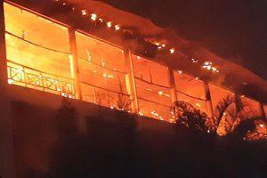 Hỏa hoạn tại bệnh viện ở Kenya, 100 bệnh nhân phải sơ tán