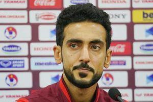 Tuyển thủ UAE: 'Chúng tôi phải chiến đấu hết mình trước Việt Nam'