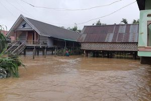 Đắk Lắk: Nhiều căn nhà bị sập và tốc mái