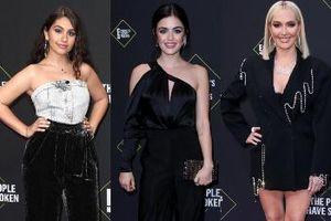 Tông đen trắng chiếm 'thế thượng phong' trên thảm đỏ sự kiện People's Choice Awards 2019