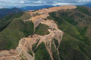 Băm nát núi Chín Khúc rồi trả lại một phần dự án