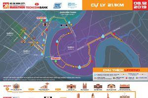 13.000 vận động viên tham gia Giải Marathon quốc tế TP.HCM - Techcombank 2019