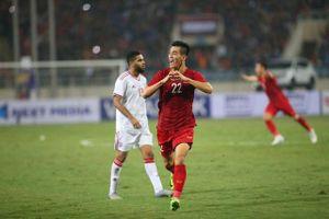 Bảng G vòng loại World Cup 2022: Thắng UAE 1-0, ĐT Việt Nam vươn lên đầu bảng