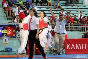 Giải Taekwondo các CLB mạnh toàn quốc 2019: Nghệ An 'bội thu' huy chương