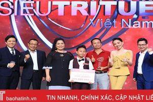 Cậu bé người Hà Tĩnh gây sốc 'Siêu trí tuệ Việt Nam': 11 giây khai căn dãy 63 con số