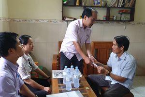 TP. Nha Trang: Thăm, tặng quà cho 14 gia đình có nạn nhân bị tai nạn giao thông
