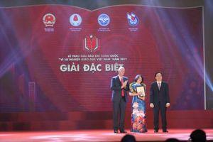 Trao giải báo chí 'Vì sự nghiệp giáo dục Việt Nam' năm 2019