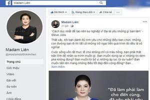 Facebook Shark Liên chia sẻ câu nói dậy sóng: Là do nhóm chủ Page đăng?