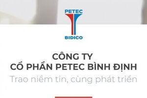 Tổng giám đốc Công ty Petec Bình Định bị xử phạt do báo cáo không đúng thời hạn