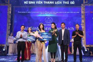 Trần Nam Phương giành giải Nhất Nữ sinh viên thanh lịch Thủ đô