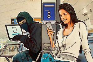 Hãy dừng ngay việc sạc điện thoại ở nơi công cộng