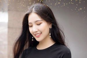 Vẻ đẹp trong veo của Hoa khôi Nữ sinh viên Thủ đô Trần Nam Phương