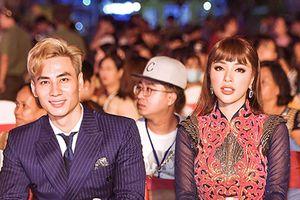 Siêu mẫu Mai Tuấn Anh - Dương Ngọc Khả Trang sánh đôi đi trao giải cuộc thi sắc đẹp