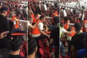 Trận Malaysia - Indonesia, cảnh sát họp còn nhiều hơn 2 đội