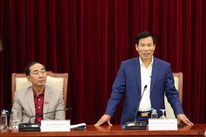 Bộ trưởng Nguyễn Ngọc Thiện: Tạo sức bứt phá trên quê hương cách mạng