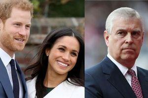 Harry, Meghan và Hoàng tử Andrew lại 'gây rắc rối cho gia đình hoàng gia'