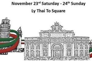 Tái hiện quảng trường Italia cùng 'Đêm trắng' tại Hà Nội