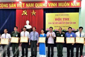 PC Khánh Hòa: Tham gia Hội thi Báo cáo viên giỏi cấp tỉnh năm 2019