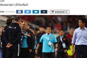 Sợ phạt vì khiêu khích HLV Park Hang-seo, trợ lý HLV Thái Lan xin lỗi chung chung