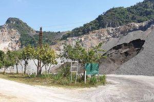 Nhiều mỏ đá vẫn khai thác trong khi bị tước quyền sử dụng giấy phép