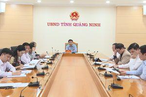 Chủ tịch UBND tỉnh Nguyễn Văn Thắng nghe báo cáo đề xuất ý tưởng quy hoạch một số dự án đầu tư