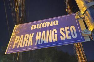 Gỡ biển 'Đường Park Hang Seo'