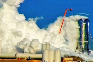 Tên lửa nổ tung trong quá trình phóng thử