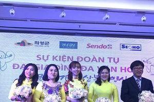 Đoàn tụ đại gia đình đa văn hóa Hàn - Việt đang sinh sống tại Uiseong