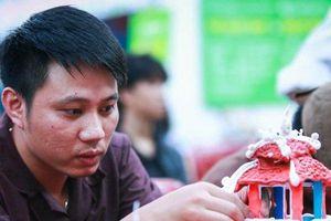 Độc đáo hội thi nặn tò he, tôn vinh di sản văn hóa Việt