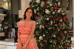 Lương Thùy Linh nổi bật với đầm hồng thi tài năng ở Miss World