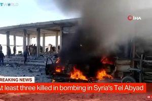 Đánh bom xe tàn khốc ở Syria làm 10 người chết, 25 người bị thương
