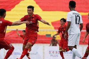 Việt Nam hai lần đè bẹp Brunei trong ngày ra quân tại SEA Games