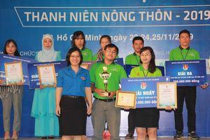 Dự án 'Bột rau sấy lạnh' giành giải nhất cuộc thi Dự án khởi nghiệp sáng tạo thanh niên nông thôn 2019