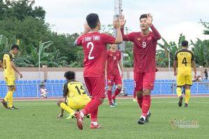Video bàn thắng U22 Việt Nam 6-0 U22 Brunei