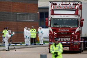 Vụ 39 thi thể trong xe tải: Cảnh sát Anh bắt thêm 1 đối tượng