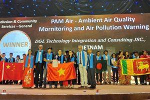 Sản phẩm quan trắc môi trường của người Việt giành 'Oscar' về công nghệ thông tin