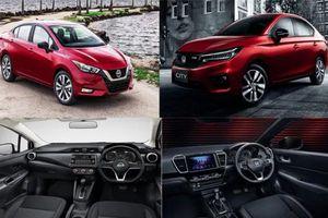 Honda City và Nissan Sunny thế hệ mới: 'Kẻ tám lạng, người nửa cân'