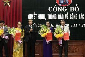 Kiện toàn nhân sự chủ chốt tại hai tỉnh Sóc Trăng, Quảng Bình